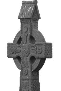 Celtic Cross - Close-up B&W v2